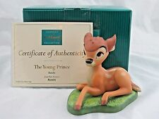 """WDCC """"The Young Prince"""" from Disney's Bambi in Box with COA"""
