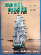 MODEL MAKER & MODEL CARS Magazine July 1963 published in Great Britain