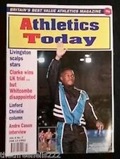 ATHLETICS TODAY - ANDRE CASON INTERVIEW - FEB 13 1992