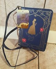 Beauty and the Beast Belle Book Bag Purse Navy Blue Brand New!