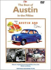 BEST OF AUSTIN IN THE FIFTIES DVD. 88 Mins Approx. A35, A40, A50 etc. HMFDVD5009