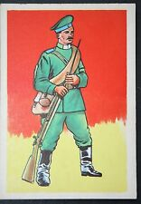 Imperial Russian Infantry  World War 1    Historic Uniform Card # VGC
