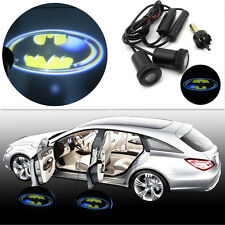 2x 3D Batman LED Laser Logo Car Door Step Welcome Ghost Shadow Projector Lights