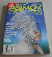 ISAAC ASIMOV SCIENCE FICTION MAGAZINE N°12..Ed US..BRIAN STABLEFORD.JOE HALDEMAN