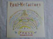 "Press by Paul McCartney Vinyl 12"" Single Capitol Records"
