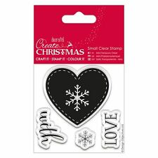 Do-Crafts Papermania Clear Stamps -  Christmas Nordic Heart for Cards or Crafts