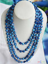 """D0071 100"""" 16MM BAROQUE FRESHWATER CULTURED PEARL NECKLACE"""
