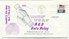 1973 R&C Data Relay Program 313 Satellite Data System Atlas-Agena USAF NASA SAT