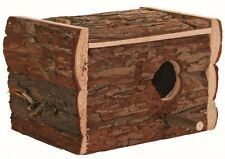 Trixie Natural Wooden Budgie Nest Nesting Box With Perch Cage / Avairy 5632