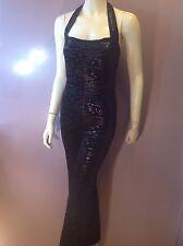 """Women Vintage Jumpsuit """"Mitra Modelle"""" USA Size L. Black Snake Skin Appearance"""