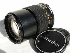 MINOLTA MC CELTIC  135 mm f 3.5 LENS with caps   SN10112607 AS IS