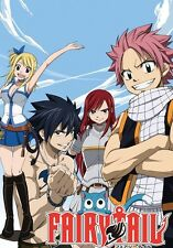 POSTER FAIRY TAIL NATSU GAJIL LUCY HAPPY PLUE MANGA CHIAVI GRAY FULLBUSTER #1