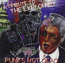 A Tribute to the Exploited-Punk's not dead Blanks 77, Dehumanized, Bittyc.. [CD]