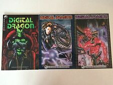 Digital Dragon #1 2 3 SET 1-3 Peregrine Entertainment comic books