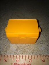 Vintage Mattel 2240 Orange Replacement Cooler Case Foot Locker Accessory