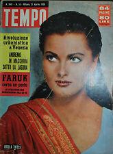 TEMPO N°16/ 21.04.1955 - URSULA THIESS - RIVOLUZIONE URBANISTICA A VENEZIA