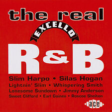 THE REAL EXCELLO R&B - VARIOUS ARTISTS - CDCHD 562