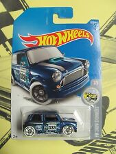 2017 Hot Wheels Case F MORRIS MINI NEW BLUE