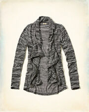 Hollister by Abercrombie Women's Newport Peninsula Zip Jacket Sweater Size L NWT
