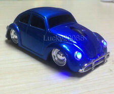 Blue USB 2.4G wireless Mouse Optical VW Beetle Car Mice Bug for Laptop MAC PC