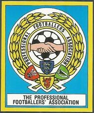 PANINI FOOTBALL 88-#003-THE PROFESSIONAL FOOTBALLERS'ASSOCIATION EMBLEM