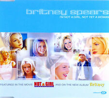 Maxi CD - Britney Spears - I'm Not A Girl, Not Yet A Woman - #A2328