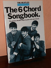 THE BEATLES SPARTITO-THE 6 CHORD  SONGBOOK-INGLESE-ACCORDI PER 15 CANZONI