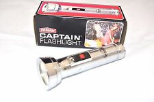 VINTAGE Eveready CAPTAIN Magnet FLASHLIGHT 1970s MODEL 9231 Made in USA NEW 6""