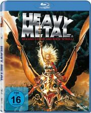 HEAVY METAL - BLU RAY - Region A,B,C (worldwide) - 1981 Animated Movie