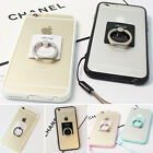 For Apple IPhone 6S/ iPhone 6 Plus Clear Ring Holder Case Cover Shin Shell TPU