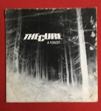 """THE CURE - A Forest -Rare Original UK 7"""" +Pic Sleeve /Metallic label (Vinyl)"""