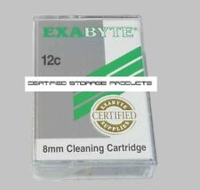 NEW 5/PK Exabyte 8MM 727386 MP 12C Certified Cleaning Tape Cartridge 727386-A02
