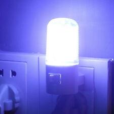 LED Wall Mounting Safety Bedroom Night Lamp Light Plug Lighting Bulb MW