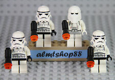 LEGO Star Wars - Lot 4x Stormtrooper & Snowtrooper 8087 10212 30005 7667 10188