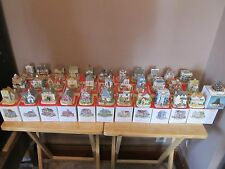 """Vintage Liberty Falls """"Americana Collection"""" Lot of 34 Buildings/Houses~w/Boxes!"""
