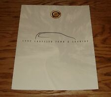 Original 1997 Chrysler Town & Country Foldout Sales Brochure 97