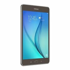NEW Samsung Galaxy Tab A 8.0 Tablet Quad Core 16GB Smoky Titanium SM-T350NZAAXAR