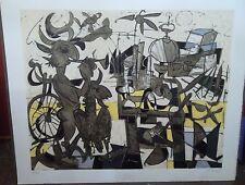 Claude VENARD (1913-1999) Lithographie composition signée et numérotée P1693