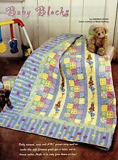 "Baby Blocks   Finished Size -44-3/4""x49-1/2""   Quilt (pattern Only)"