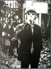 THE BEATLES POSTER PAGE . GEORGE HARRISON CHISWICK PARK LONDON 1966 . G4