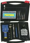 New 19pc Watch Back Opener Repair Tool Kit Band Pin Strap Link Remover # JT6226