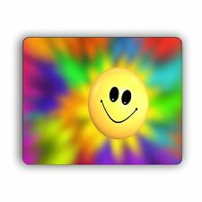 Smiley Face Computer Mouse Pad Pets Dogs Size Happy Inspirational