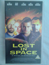 Lost In Space Family Sci Fi Film PAL VHS Video Tape 1999 Certificate PG Working
