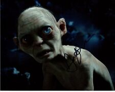 ANDY SERKIS Signed Autographed THE HOBBITT LORD OF THE RINGS GOLLUM Photo