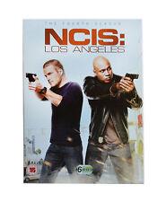 NCIS LOS ANGELES Complete Season 4 DVD Box Set Series N.C.I.S. LA Fourth 4th
