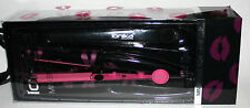 Ionika Professional Mini Hair Styling Flat Iron & Deluxe Hair Clip HOT LIPS **