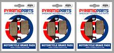 Kawasaki GPZ 1000 RX 1986 Front & Rear Brake Pads Full Set (3 Pairs)