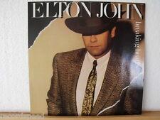 """★★ 12"""" LP - ELTON JOHN - Breaking Hearts - OIS (Lyrics)"""