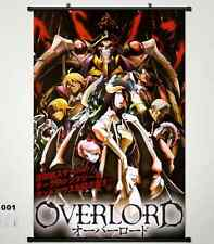 Home Decor Japanese Wall poster Scroll Anime Overlord Cosplay 001
