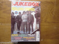 JUKEBOX MAGAZINE 203 ROLLING STONES APPLE TINA VIGON LEONARD JACKSON MADONNA